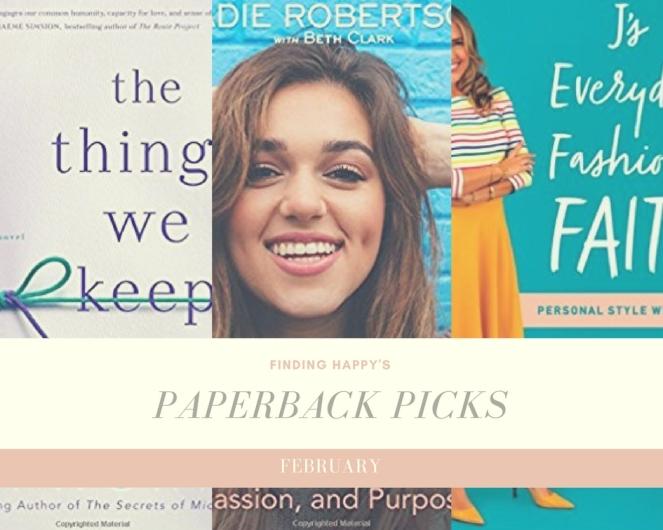 February 2018 Paperback Picks