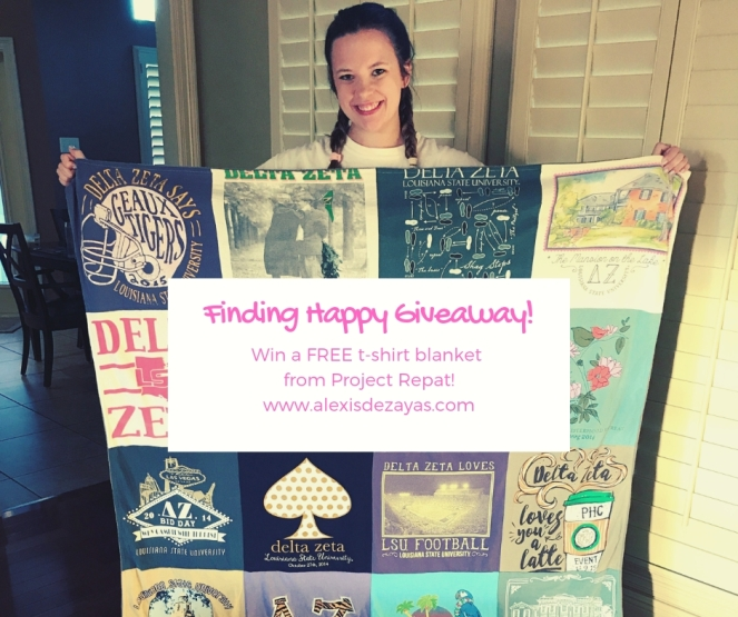 finding happy giveaway graphic